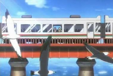 電車の中から海と叫ぶ
