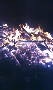 那須温泉御神火祭炎