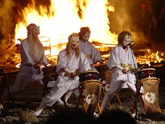 那須温泉御紙火祭