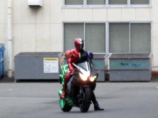 仮面ライダーW&バイク