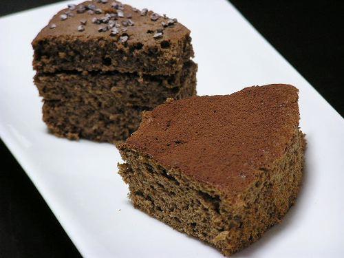 大豆粉チョコケーキ二種