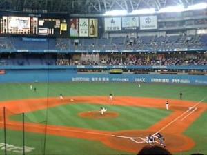 大阪ドームホークス戦