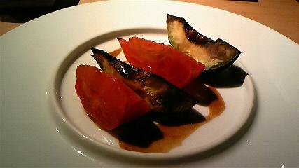アボカドと厳選トマト炙り焼き