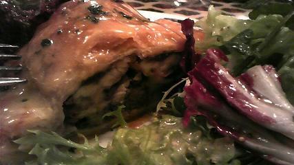 ル・クロ・モンマルトル いわしのパイ包み焼き2