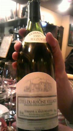 ル・クロ・モンマルトル ワイン2