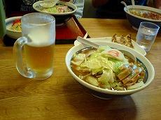 野菜ラーメン味噌の野菜大盛り