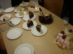 ケーキの山