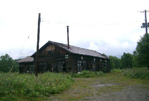 音更森林鉄道(十勝三股~岩間温泉)の機関庫