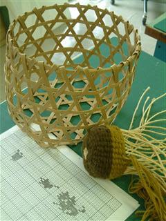 六つ目編みともじり編み
