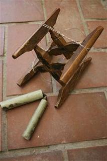 木枠としごき棒