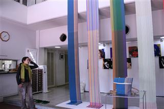 布を織る 講評会
