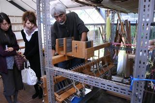 冨田潤さんアトリエ