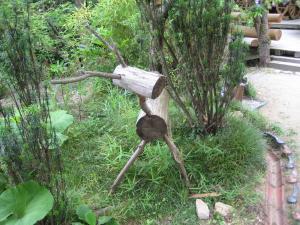 木のオブジェ-2