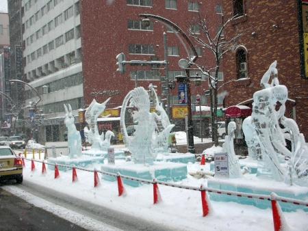氷の彫像2