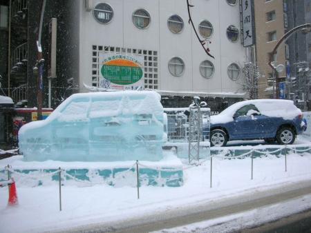 氷の彫像4