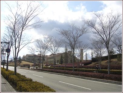 バス停からの風景
