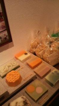 お菓子のような手作り石鹸たち