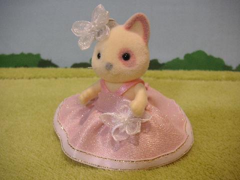 女の子ピンクドレス3