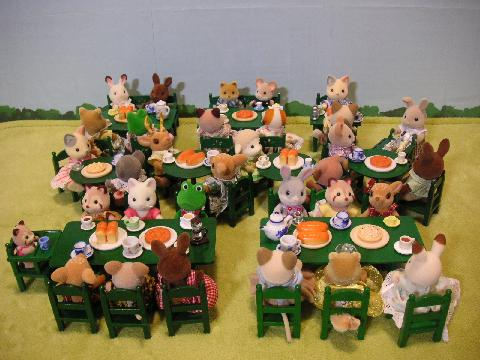 緑テーブル12