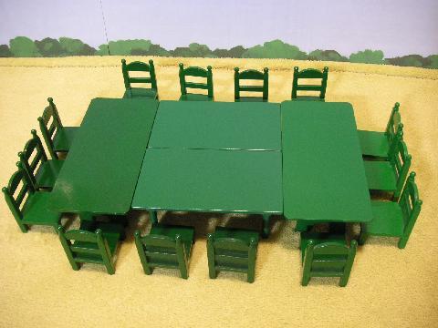 緑テーブル16