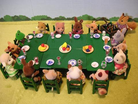 緑テーブル17