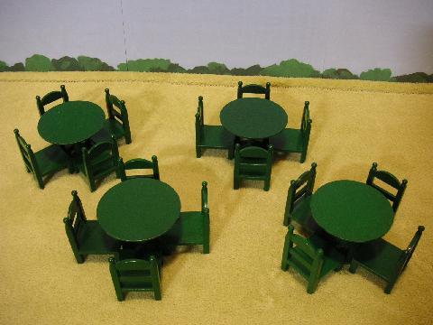 緑テーブル19