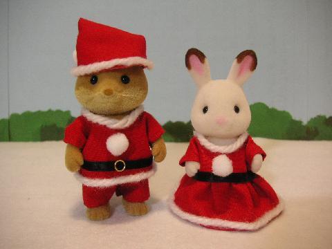 サンタ服とプレゼント1