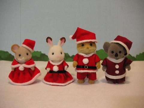 サンタ服とプレゼント2