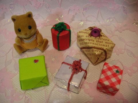 サンタ服とプレゼント5