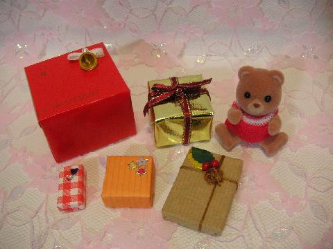 サンタ服とプレゼント6
