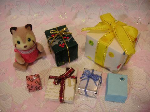サンタ服とプレゼント7