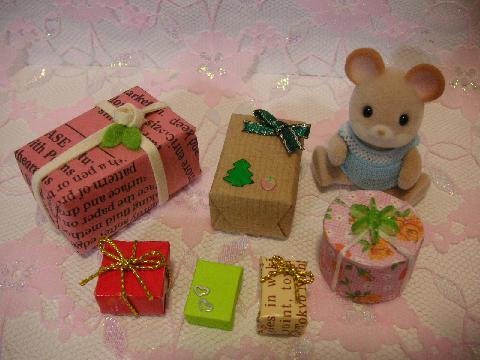 サンタ服とプレゼント8