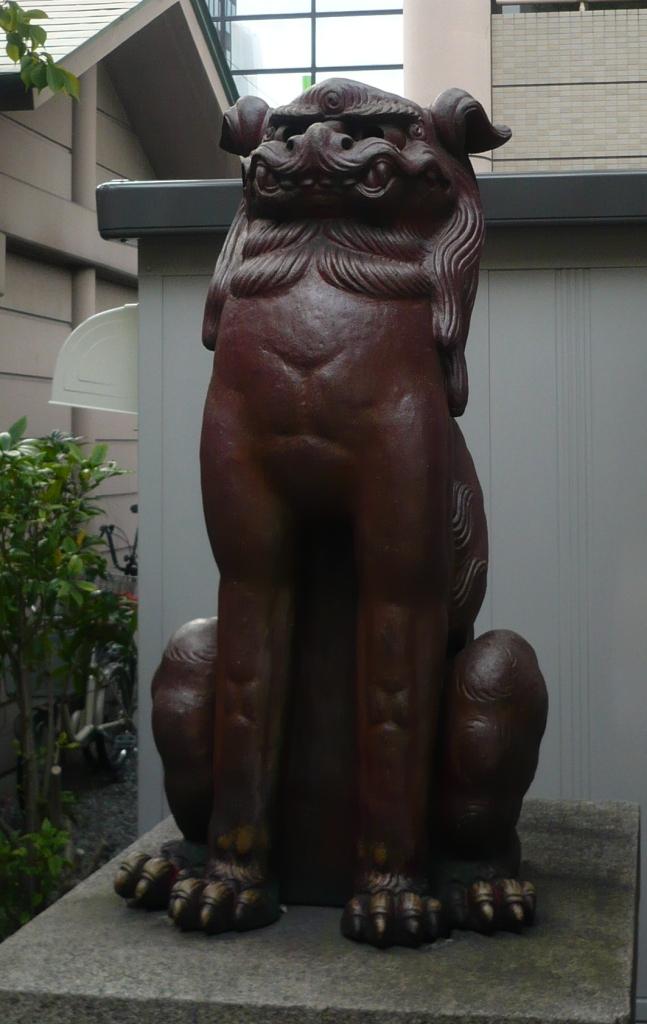 坐摩神社狛犬