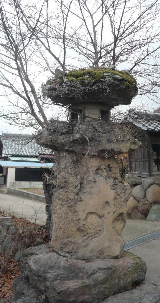 岩松院 石灯籠