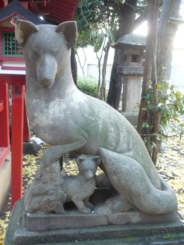 狐の母子1