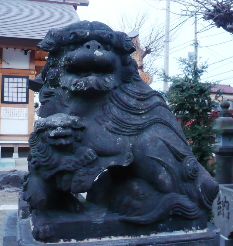 豊受神社の狛犬1