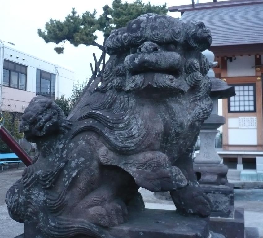 豊受神社の狛犬2