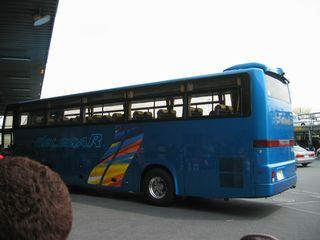 バス到着~♪
