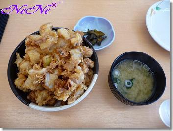 イカのかき揚丼