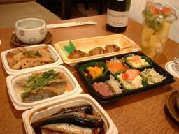 京都の夕食