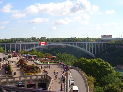 展望台から2レインボーブリッジ(国境)