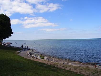ナイアガラ・オン・サ・゙レイク オンタリオ湖