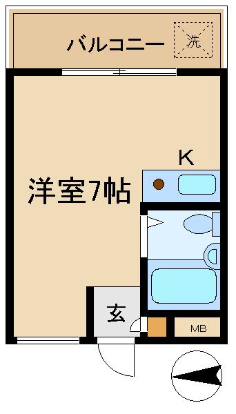 イスズハイツベル武庫川東Ⅱ202 図面