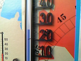 ハウス温度計