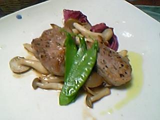 伊賀豚ヒレ肉のシェリービネガー