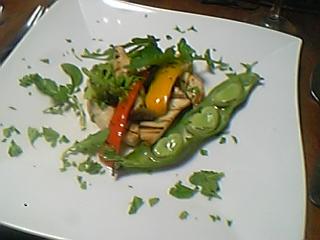 メカジキとグリル野菜のサラダ仕立て