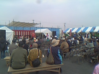 平和町桜祭り4 07年