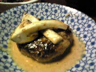 松茸ハンバーグ