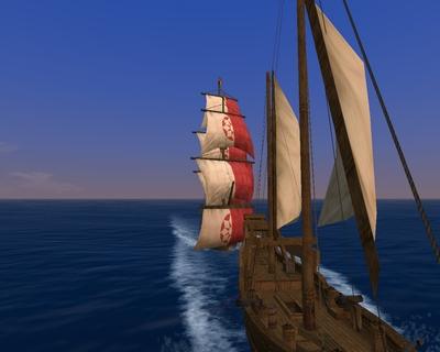 敵船補足!