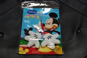 ミッキーマウスの携帯クリーナーストラップ
